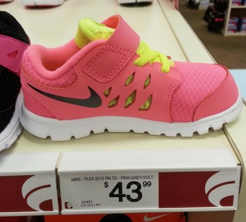 nike shoe baby