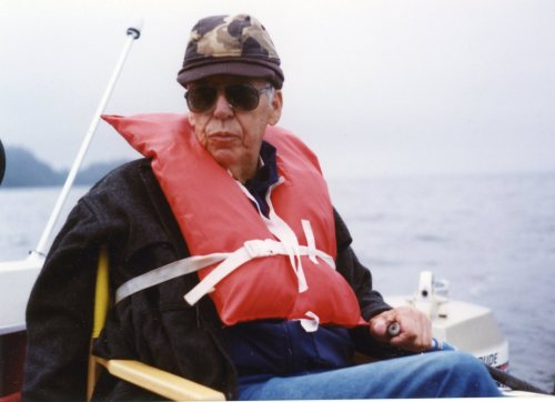 This is not me, but my dad wearing the safest flotation device on the planet.